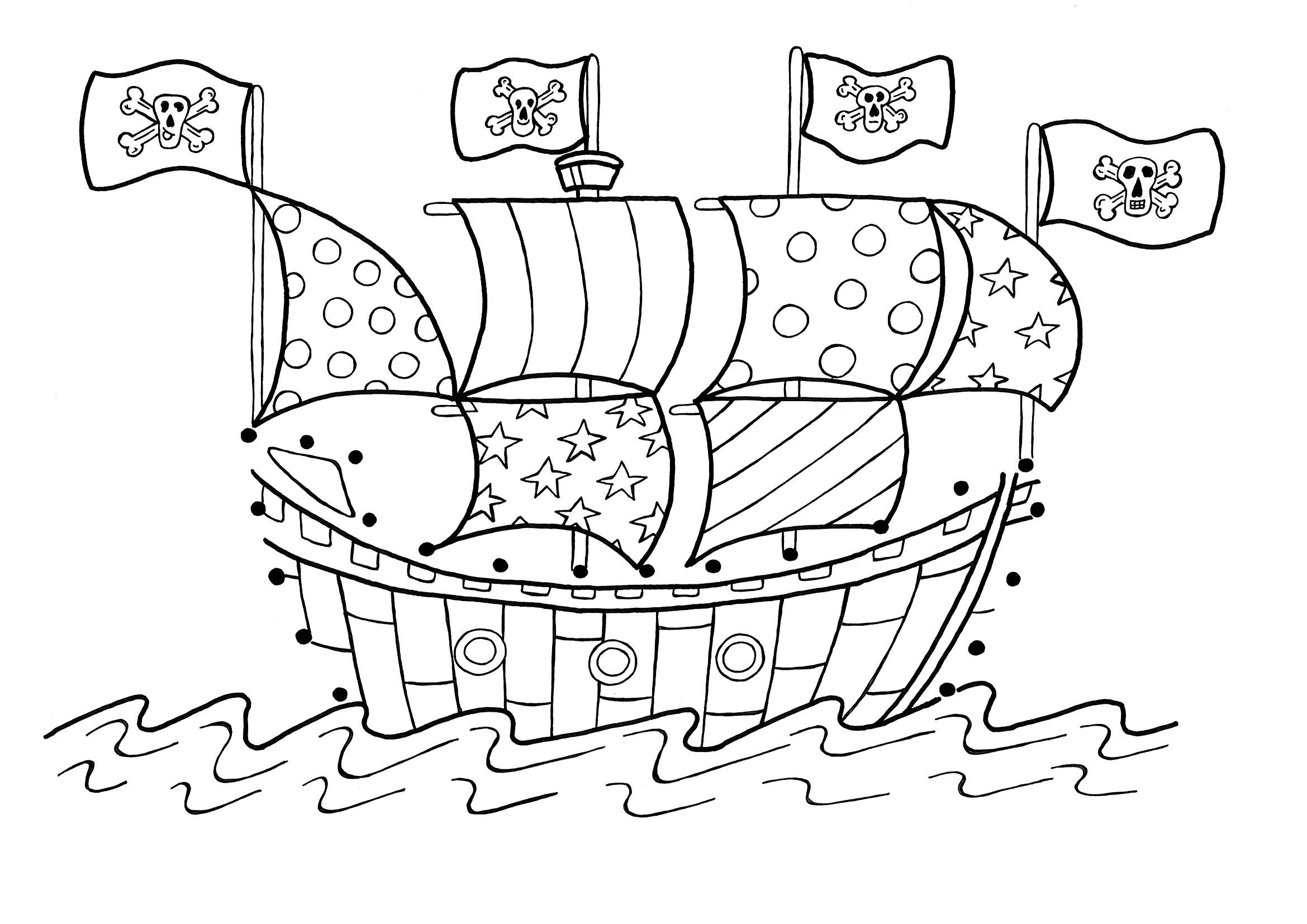 25 dessins de coloriage navire à imprimer sur LaGuerche ...