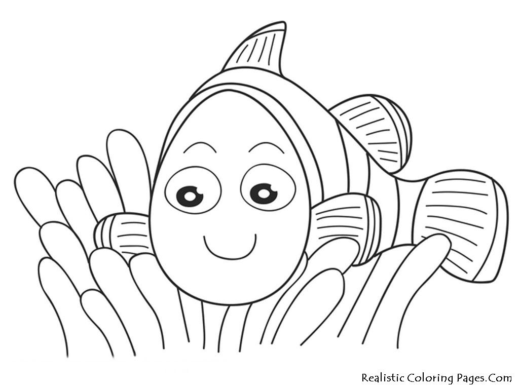 100 dessins de coloriage nemo imprimer sur for Pesce nemo da colorare