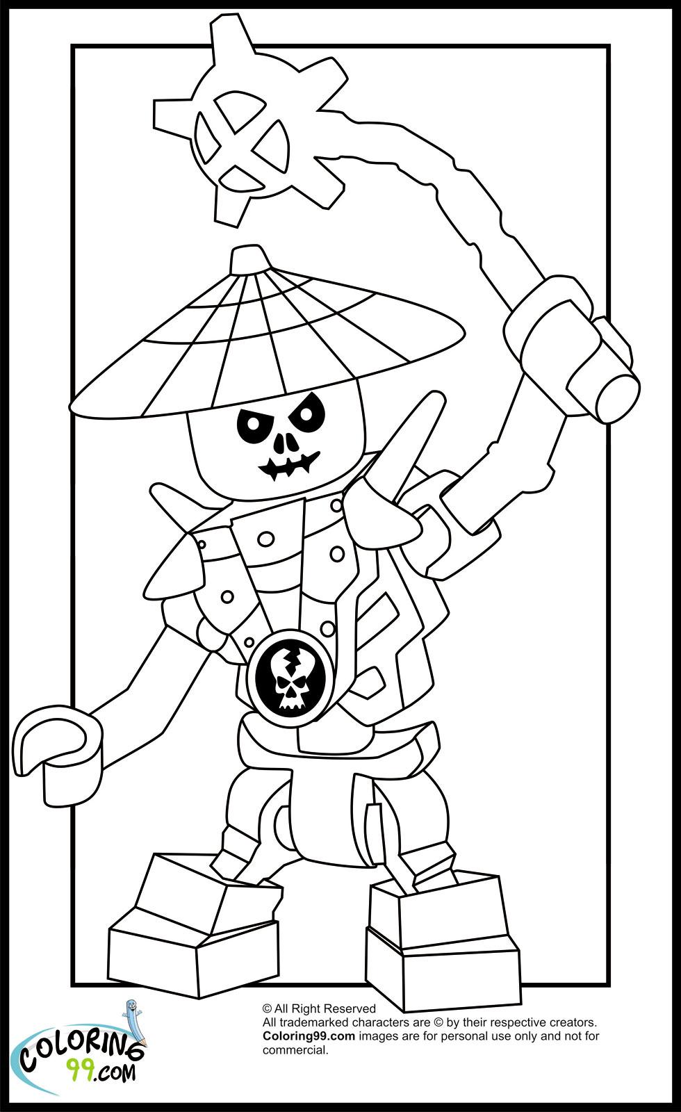 Coloriage ninjago gratuit - dessin a imprimer #145