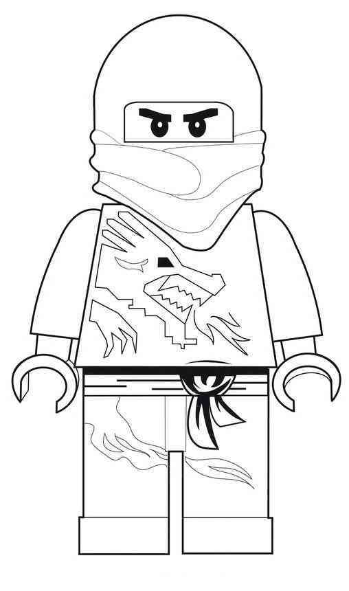 Coloriage ninjago gratuit - dessin a imprimer #148