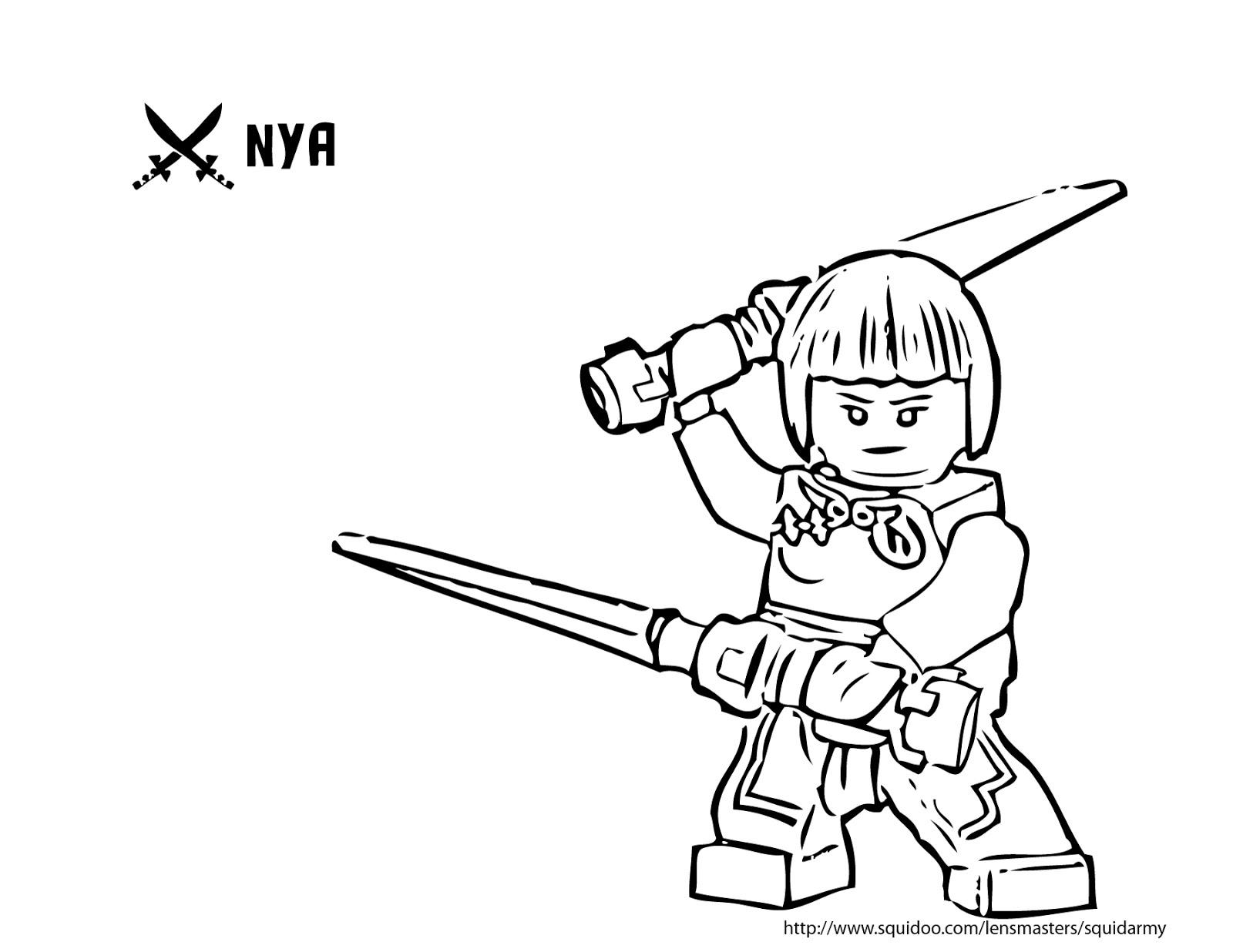 Coloriage ninjago gratuit - dessin a imprimer #180
