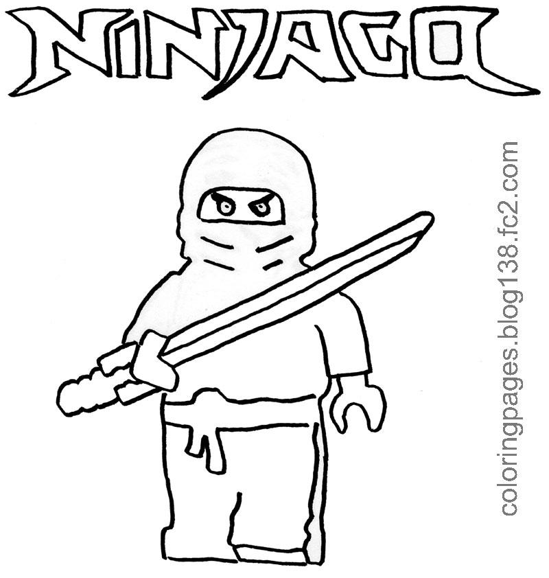 Coloriage ninjago gratuit - dessin a imprimer #188