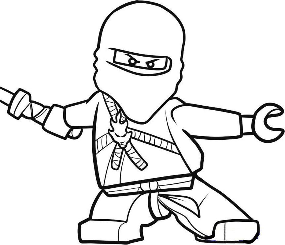 Coloriage ninjago gratuit - dessin a imprimer #2