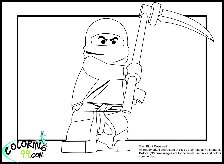 Coloriage ninjago gratuit - dessin a imprimer #200