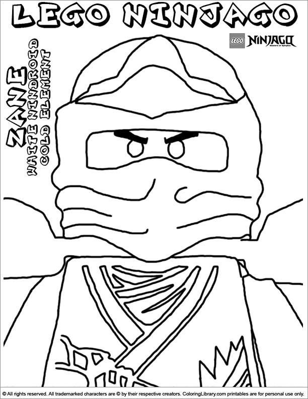 Coloriage ninjago gratuit - dessin a imprimer #236