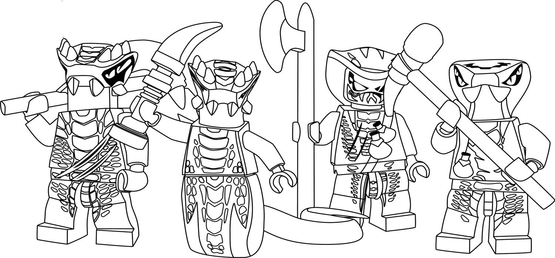 Coloriage ninjago gratuit - dessin a imprimer #25