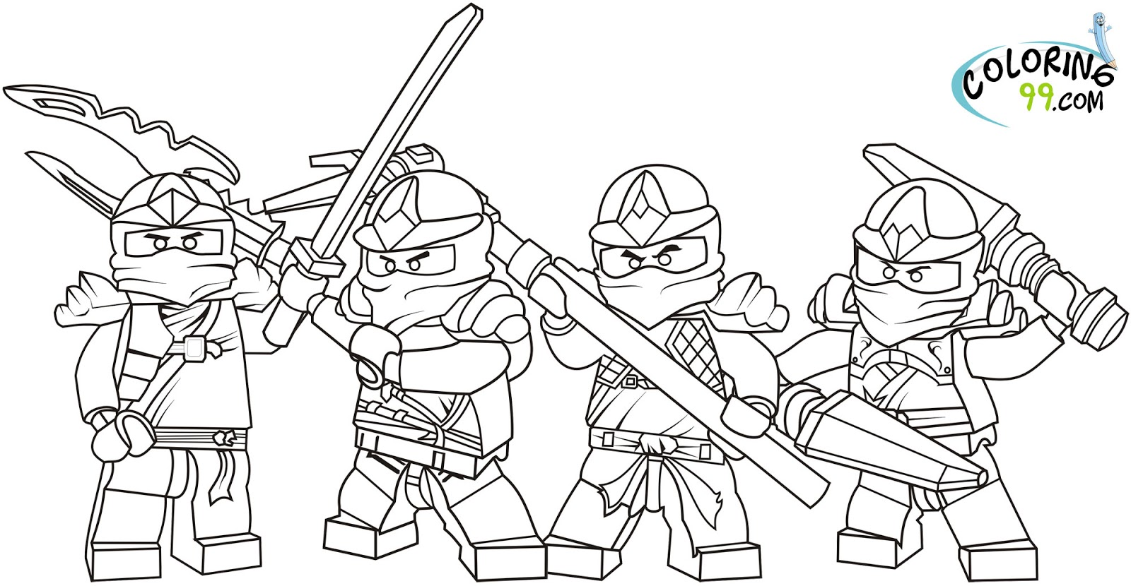 ninjago morro coloring pages coloriage