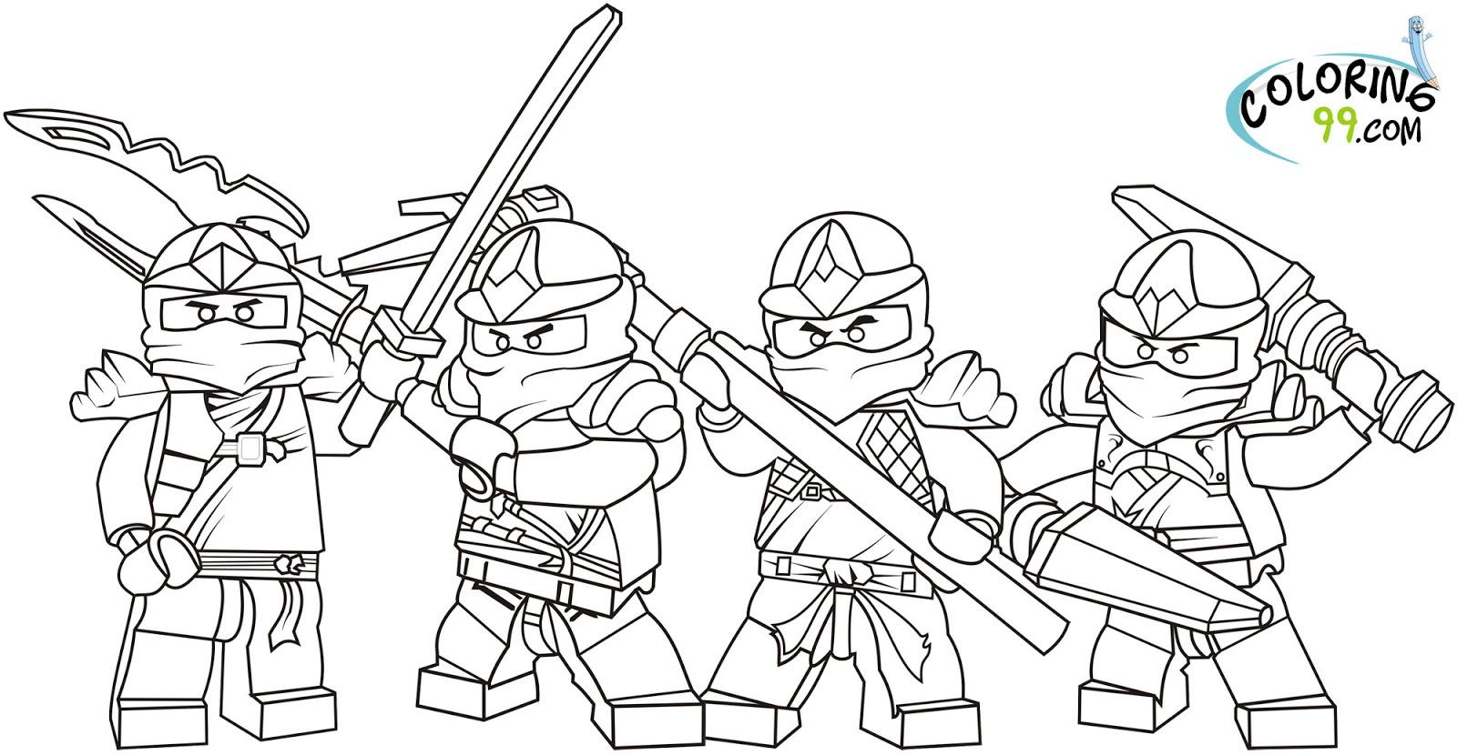 70 dessins de coloriage ninjago imprimer sur laguerche - Ninjago a imprimer ...