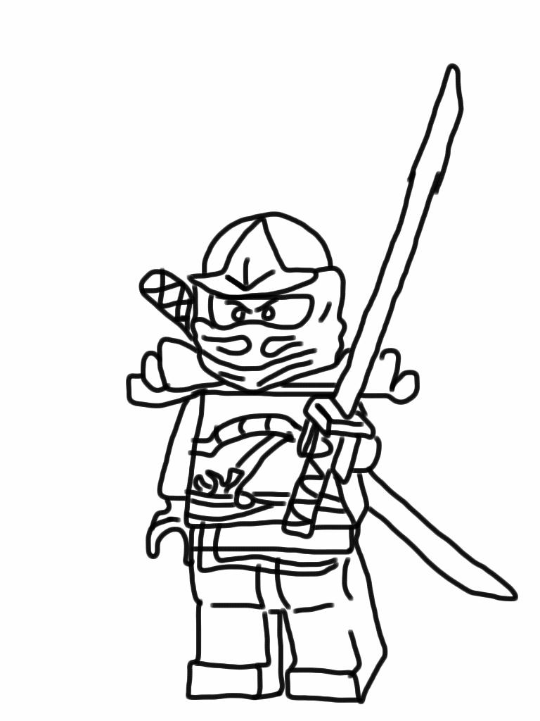 70 dessins de coloriage ninjago imprimer sur page 5 - Dessin de ninjago a imprimer ...