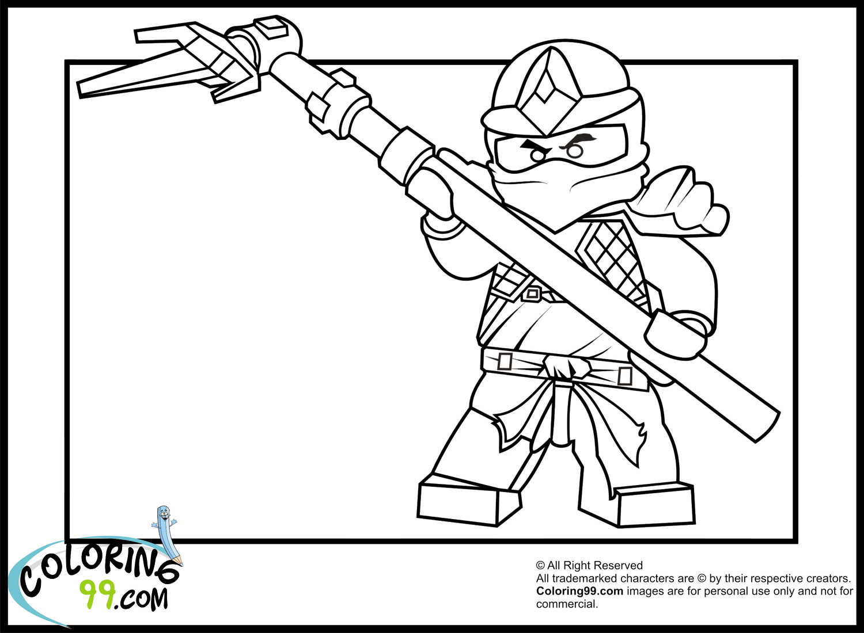 Coloriage ninjago gratuit - dessin a imprimer #41