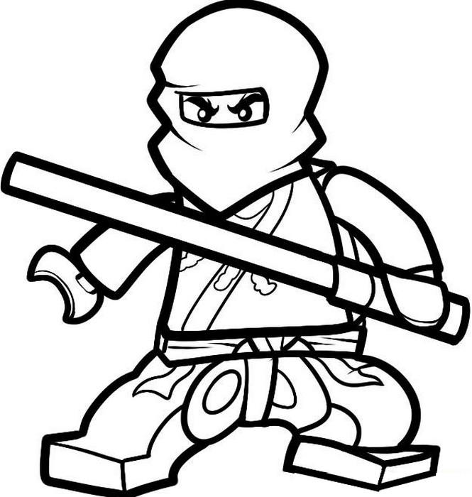 Coloriage ninjago gratuit - dessin a imprimer #42