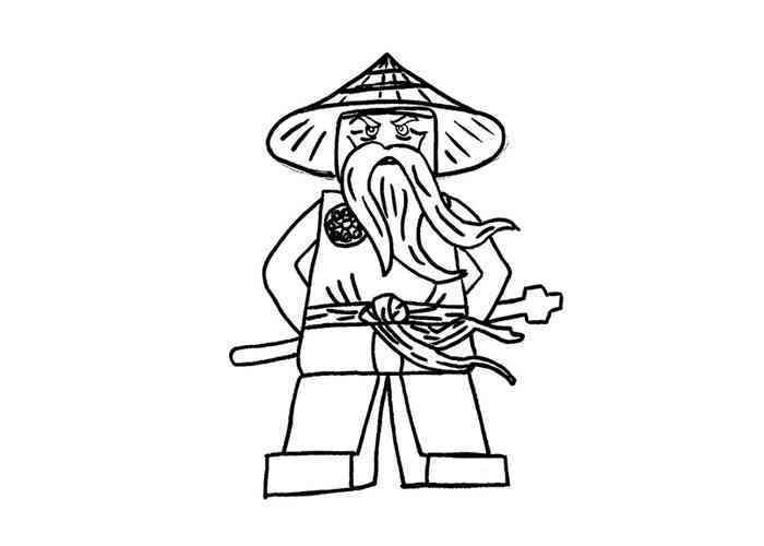 Coloriage ninjago gratuit - dessin a imprimer #43