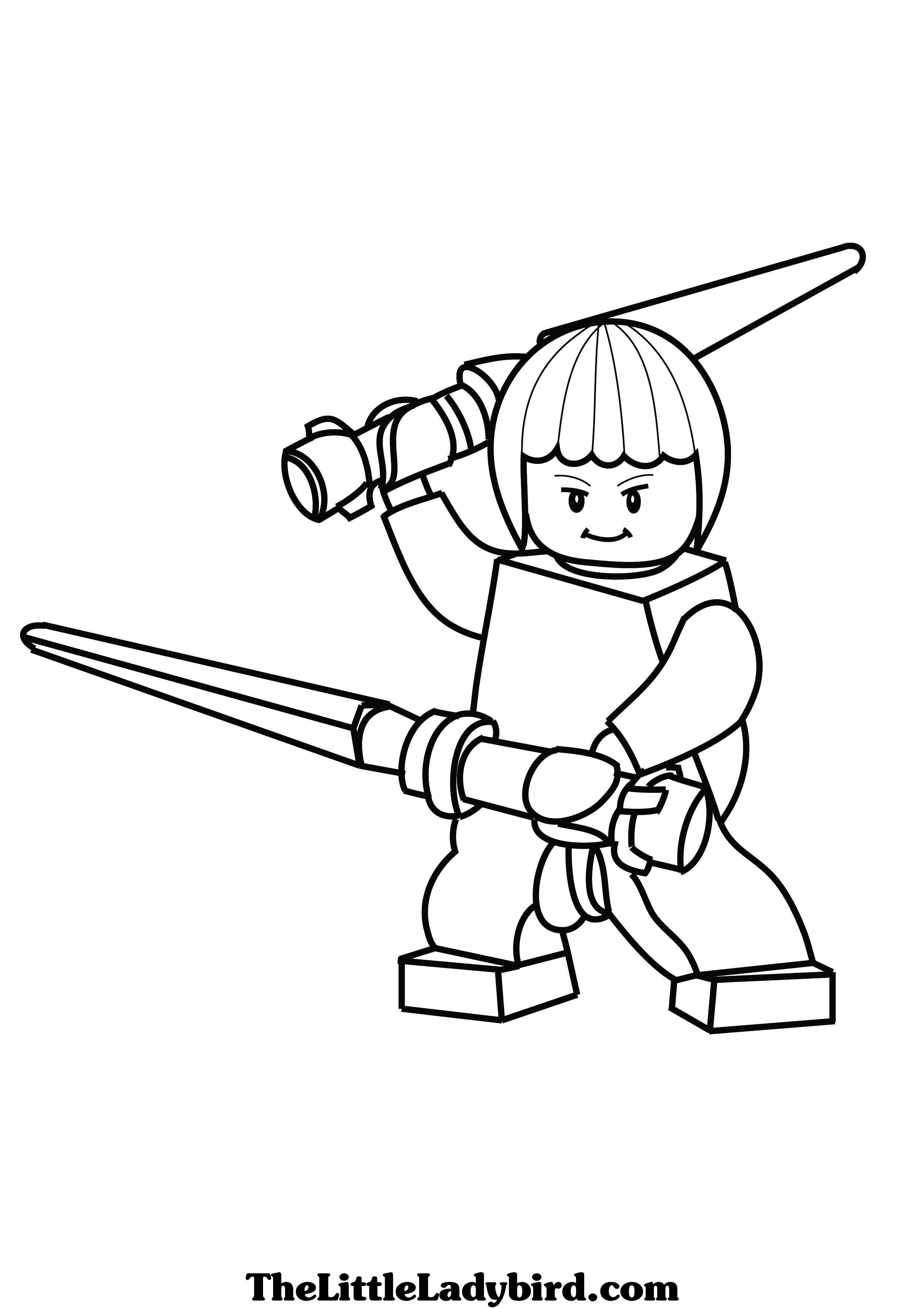 Coloriage ninjago gratuit - dessin a imprimer #72