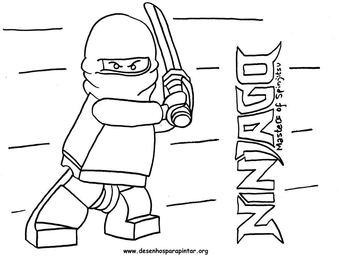 Coloriage ninjago gratuit - dessin a imprimer #73