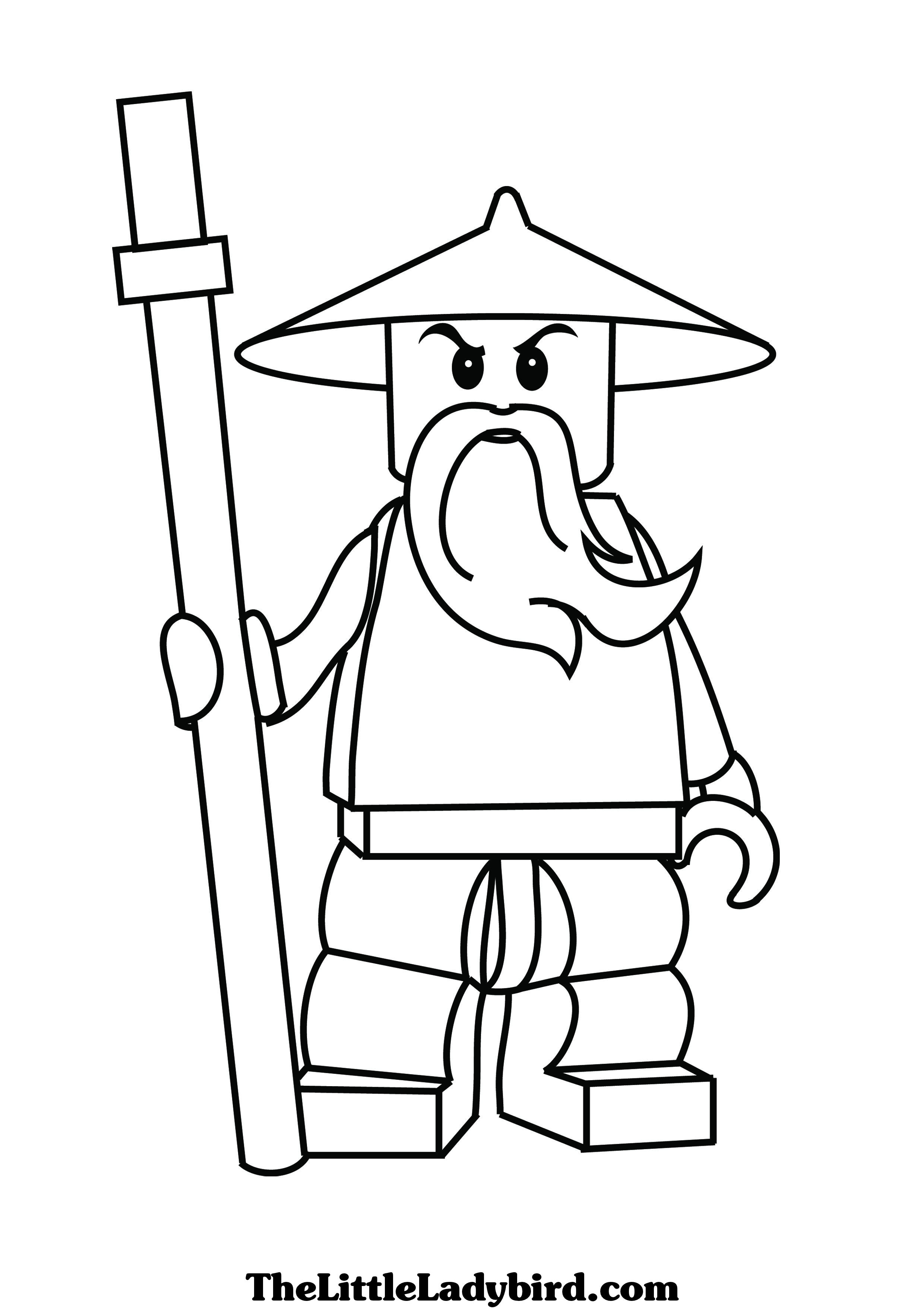 Coloring Pages Lego Ninjago : Free ninjago serpent coloring pages
