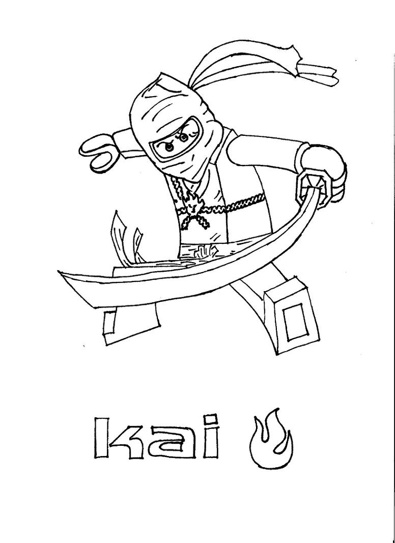 Coloriage ninjago gratuit - dessin a imprimer #92