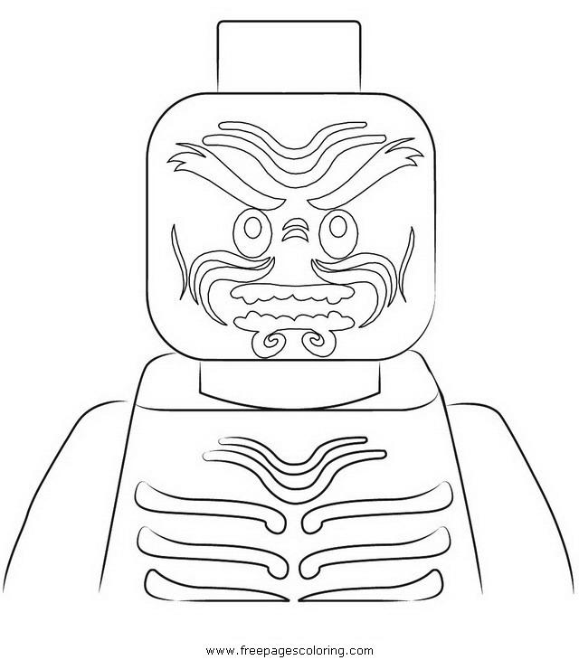 Coloriage ninjago gratuit - dessin a imprimer #96