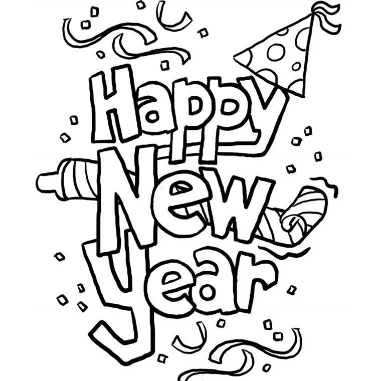Dessin Du Nouvel An