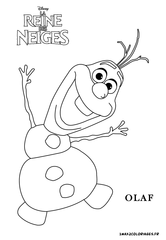 41 dessins de coloriage olaf imprimer sur page 1 - Coloriage olaf ...