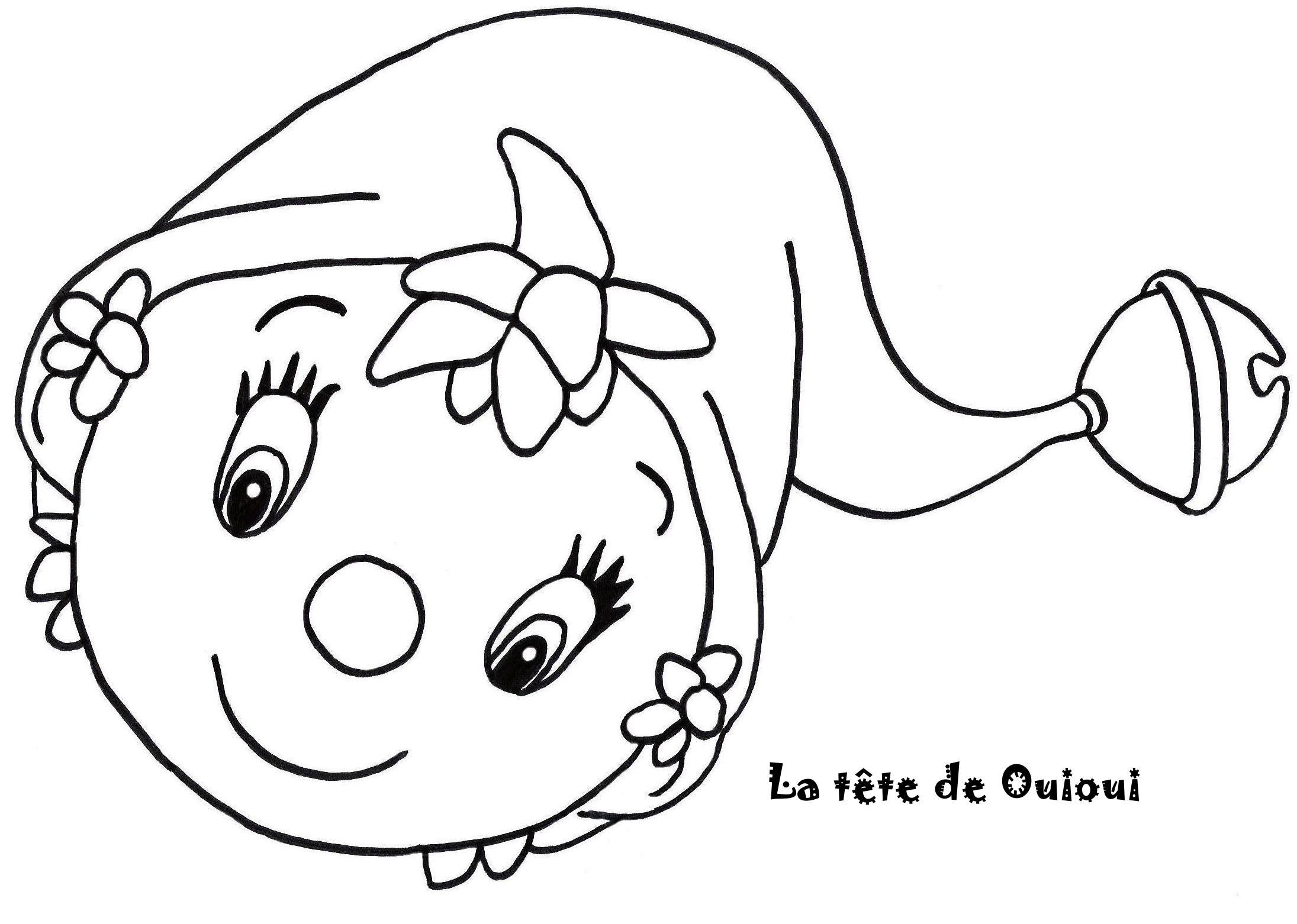 Coloriage Oui Oui.145 Dessins De Coloriage Oui Oui A Imprimer Sur Laguerche Com Page 5
