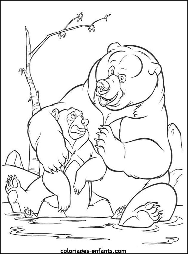 S lection de coloriage ours imprimer sur - Coloriage de ours ...