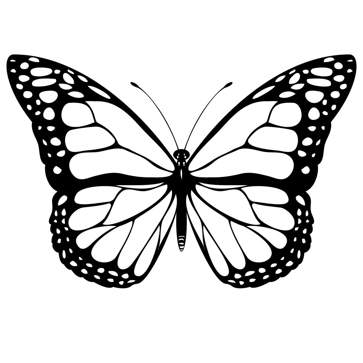 110 dessins de coloriage papillon à imprimer sur LaGuerche.com - Page 8