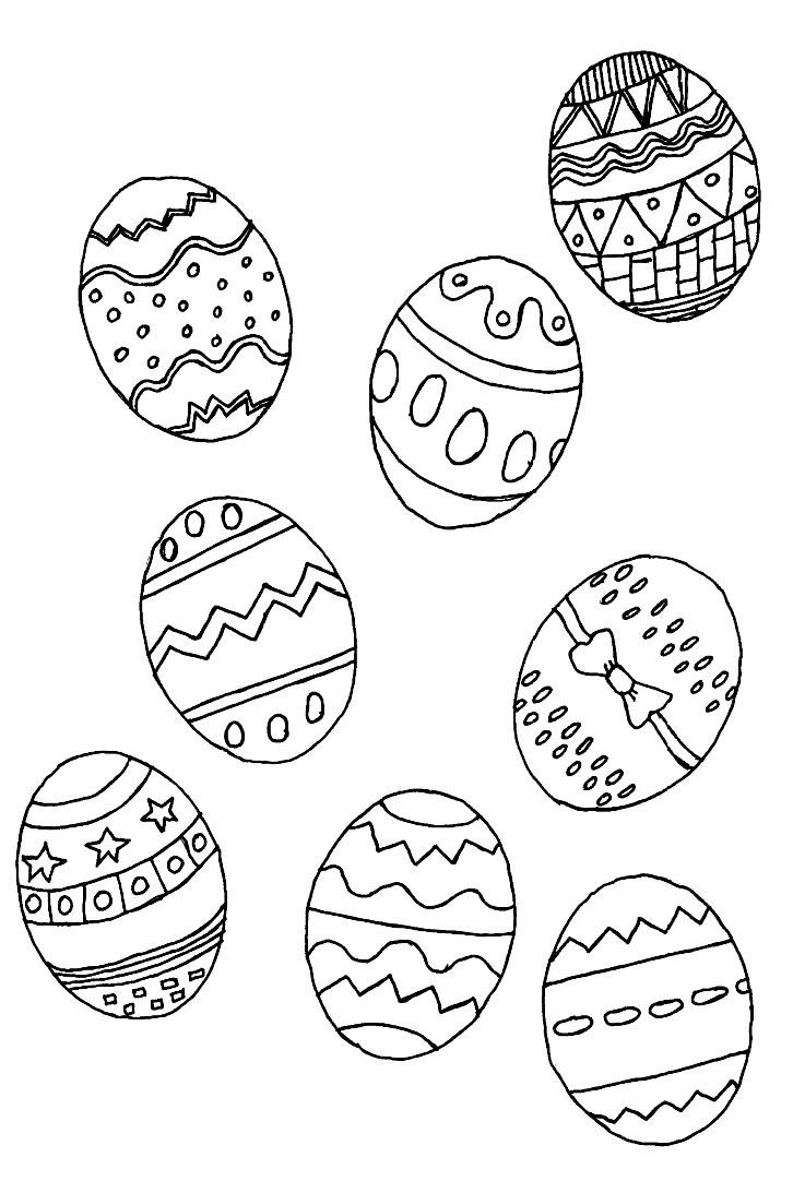 S lection de dessins de coloriage p ques imprimer sur page 5 - Image de paques a imprimer ...