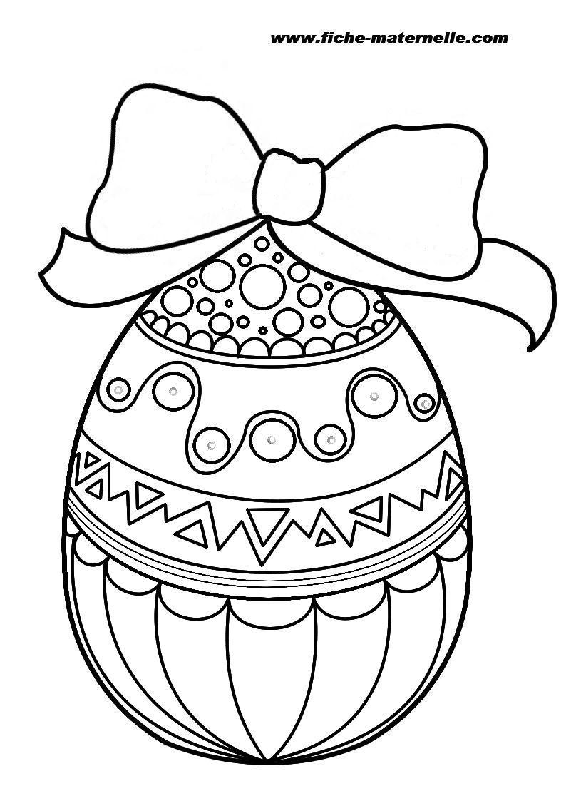 S lection de dessins de coloriage p ques imprimer sur - Image de paques a imprimer ...