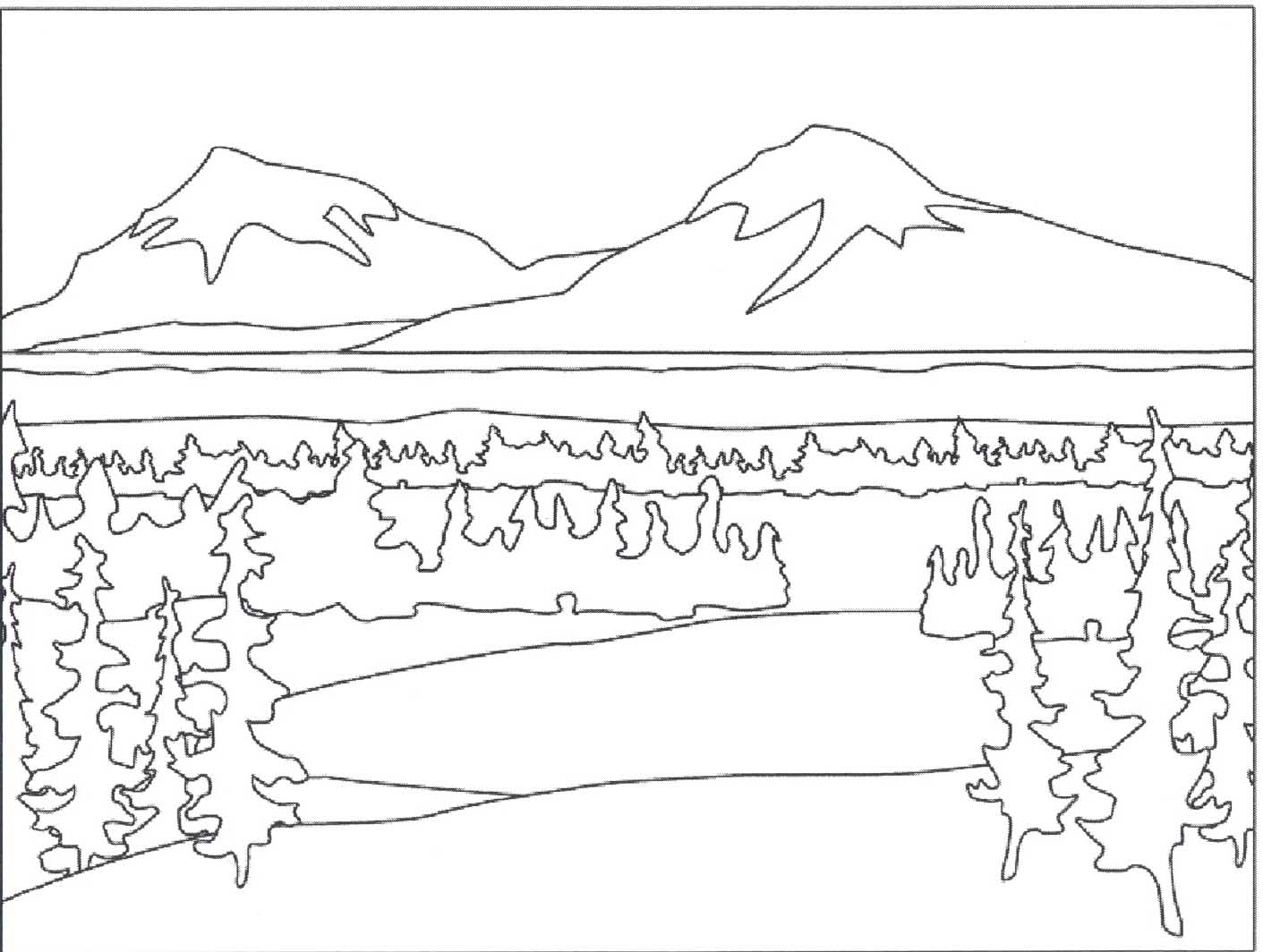 silent cacophony teaching tip tuesdays colour families Coloriage paysage