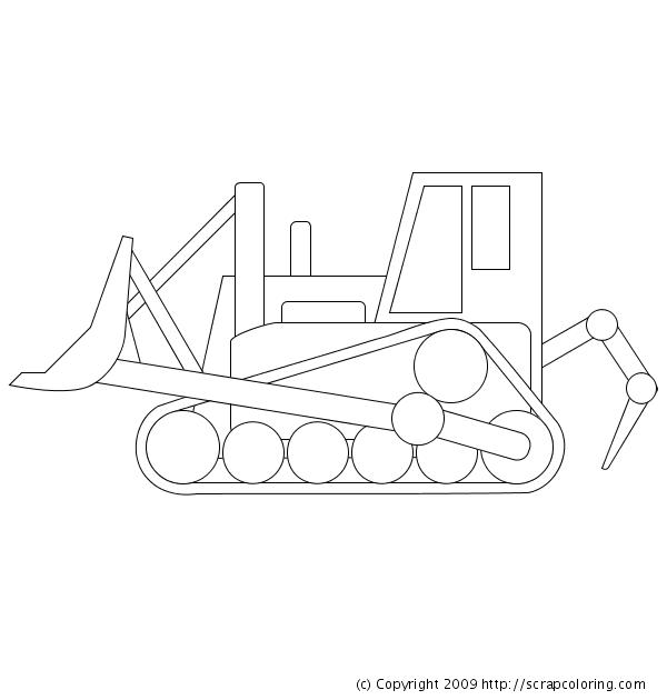 23 dessins de coloriage pelle m canique imprimer sur page 2 - Pelle mecanique dessin anime ...