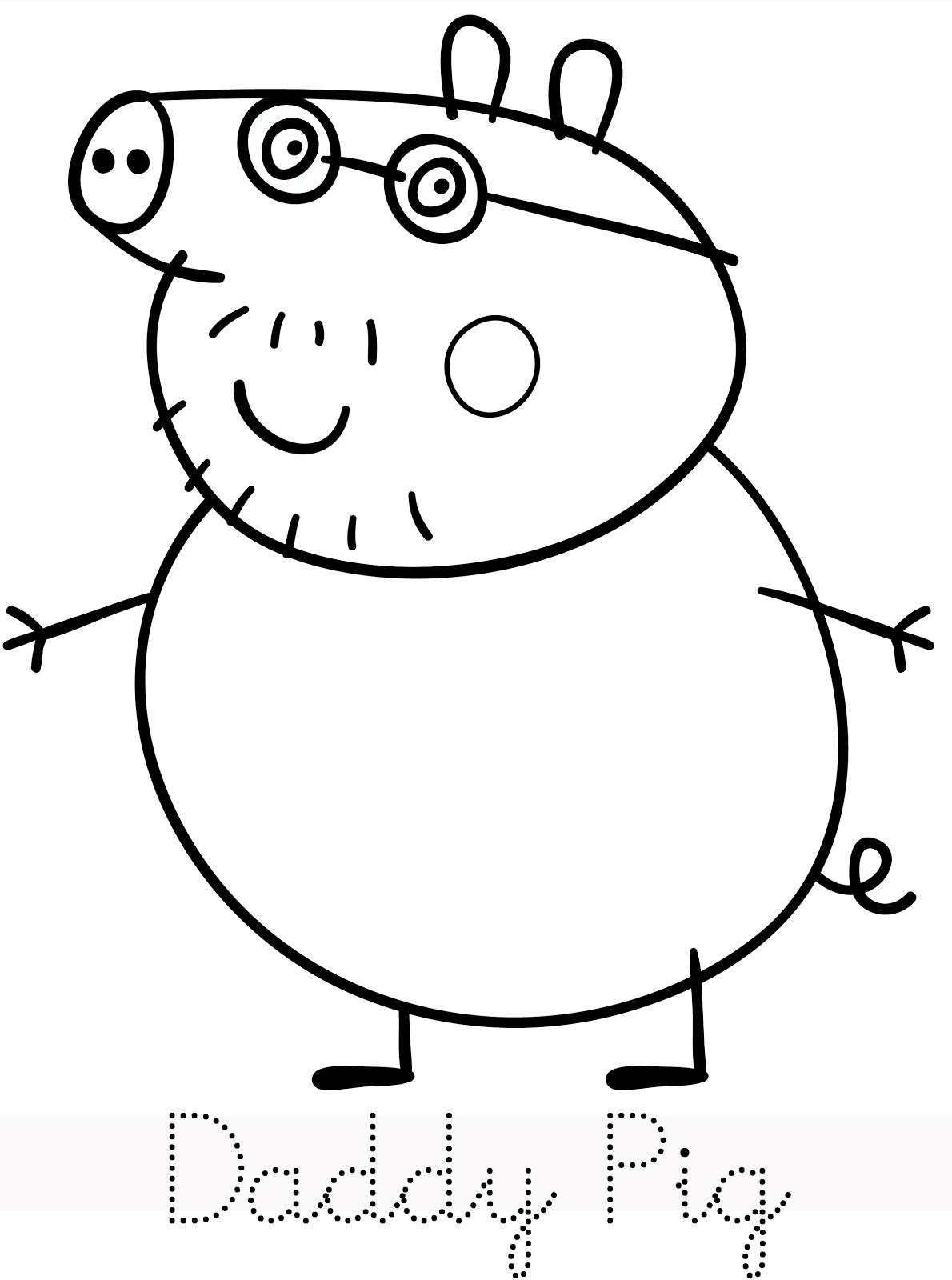 Coloriage Paques Peppa Pig.111 Dessins De Coloriage Peppa Pig A Imprimer Sur Laguerche Com Page 1