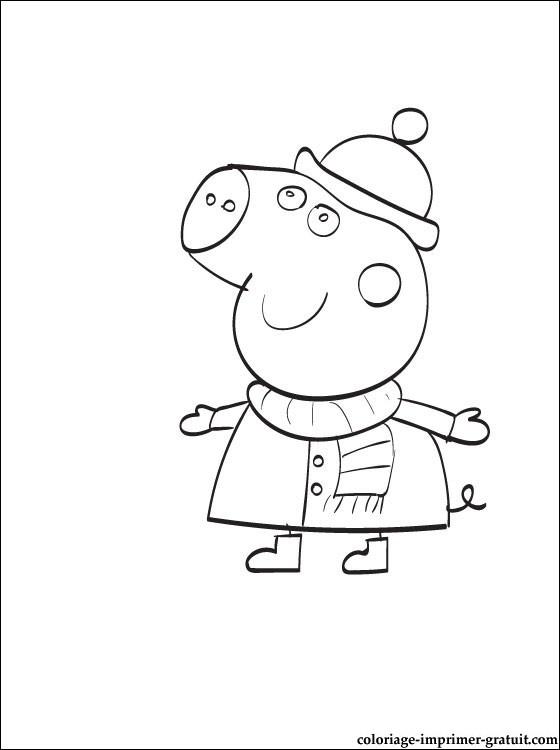 111 Dessins De Coloriage Peppa Pig A Imprimer Sur Laguerche Com Page 1