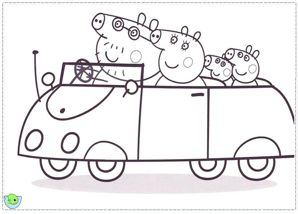 111 dessins de coloriage peppa pig imprimer sur page 9 - Dessin a imprimer peppa pig ...