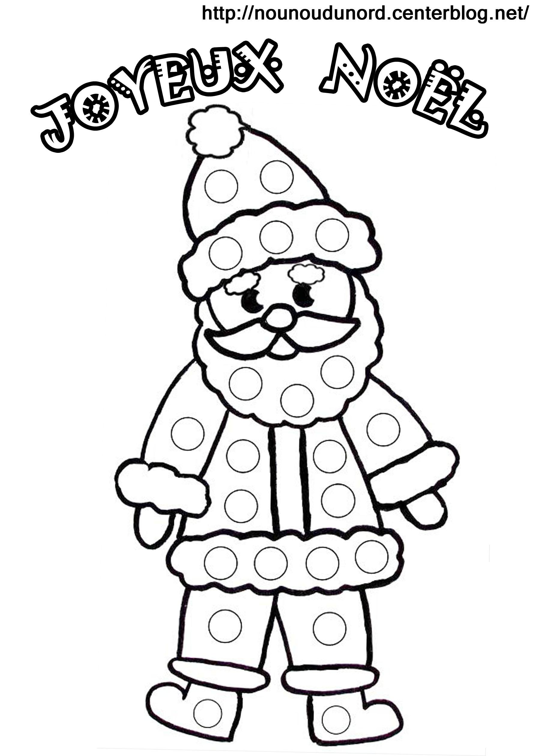 S lection de dessins de coloriage p re no l imprimer sur page 2 - Image pere noel a colorier ...