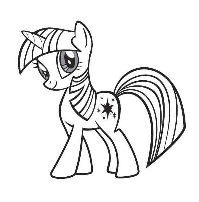 101 dessins de coloriage petit poney à imprimer sur ...