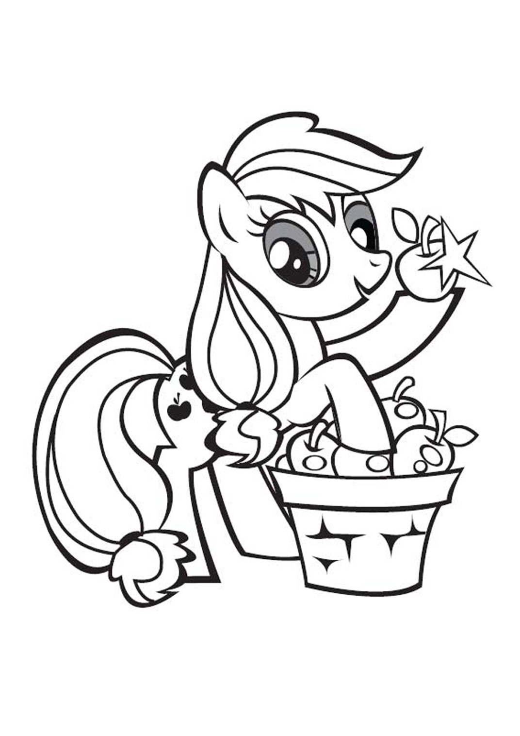 Coloriage Bebe Poney.101 Dessins De Coloriage Petit Poney A Imprimer Sur Laguerche Com