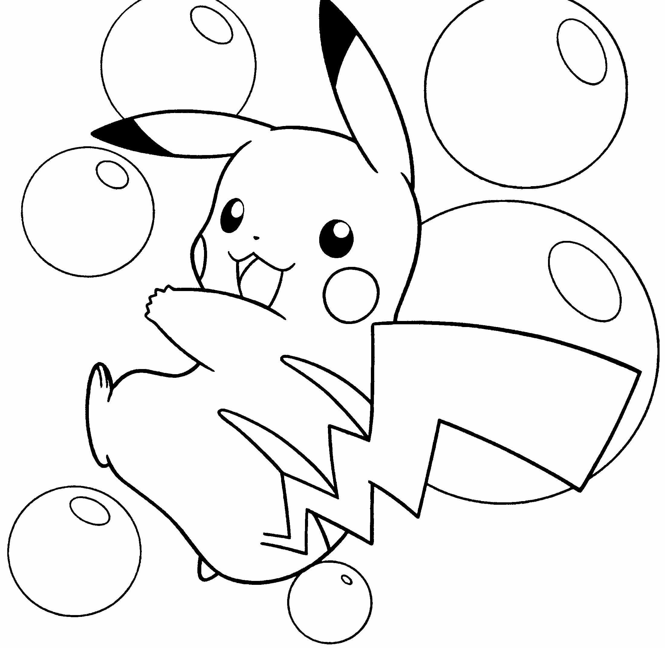 81 dessins de coloriage pikachu imprimer sur laguerche - Pikachu dessin ...