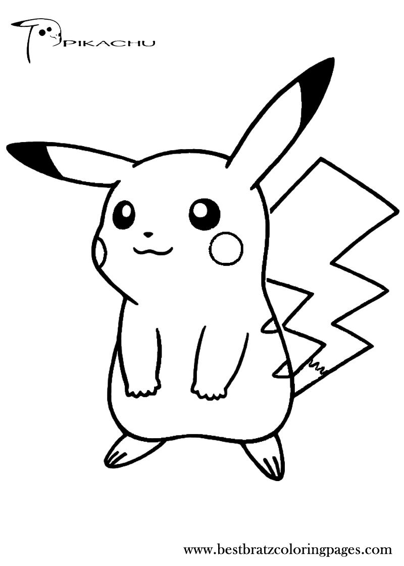 81 dessins de coloriage pikachu imprimer sur page 6 - Coloriage de pikachu ...