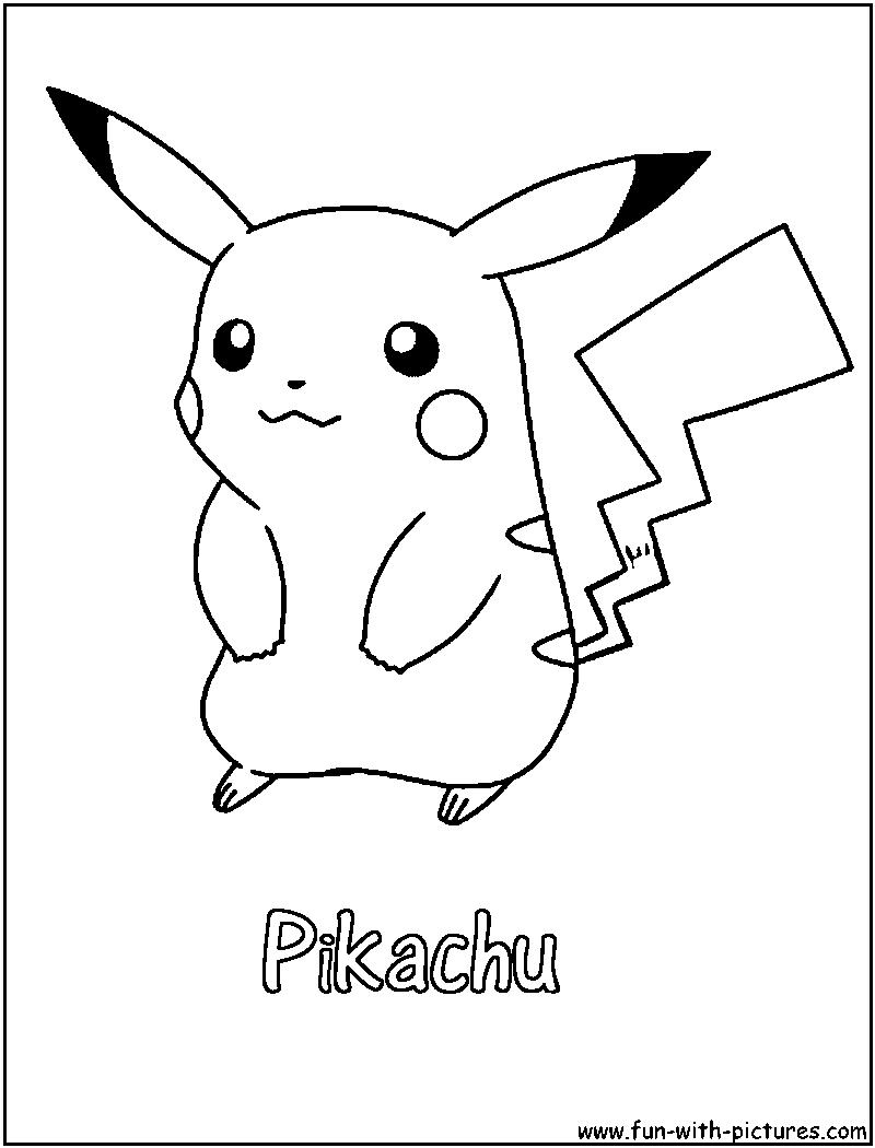 81 dessins de coloriage pikachu imprimer sur laguerche for Picachu coloring pages