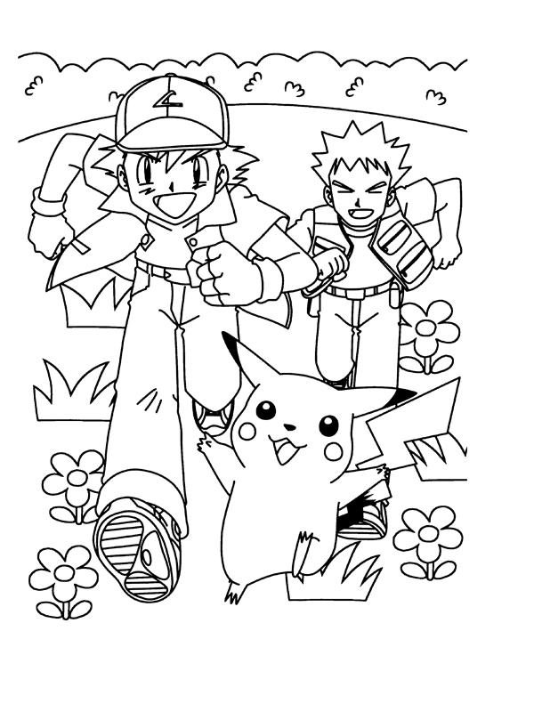 81 dessins de coloriage pikachu imprimer sur page 7 - Coloriage de pikachu ...
