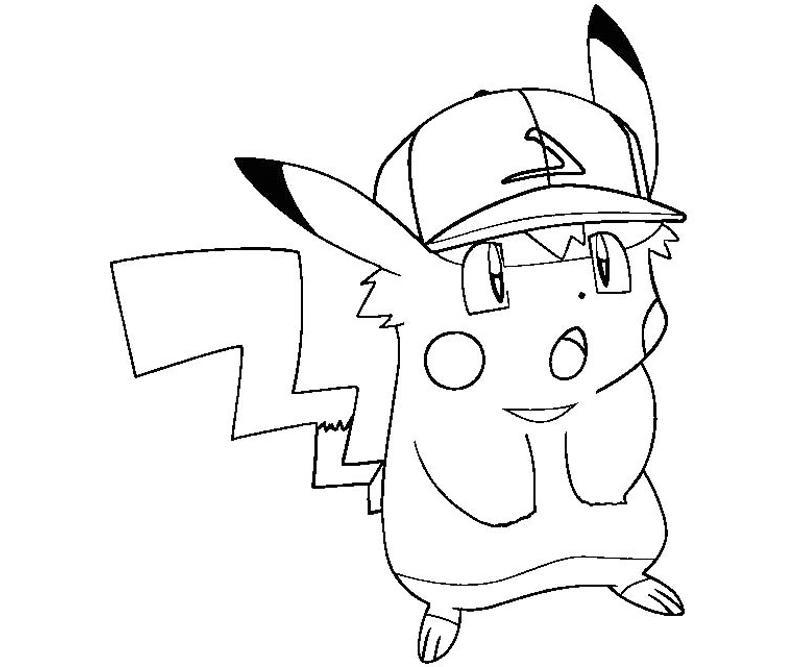 81 dessins de coloriage pikachu à imprimer sur LaGuerche ...