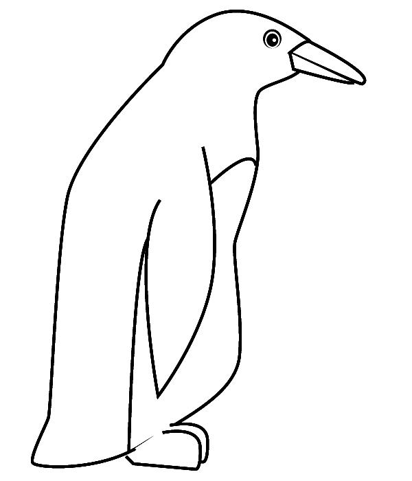 S lection de coloriage pingouin imprimer sur page 1 - Coloriage minable le pingouin ...