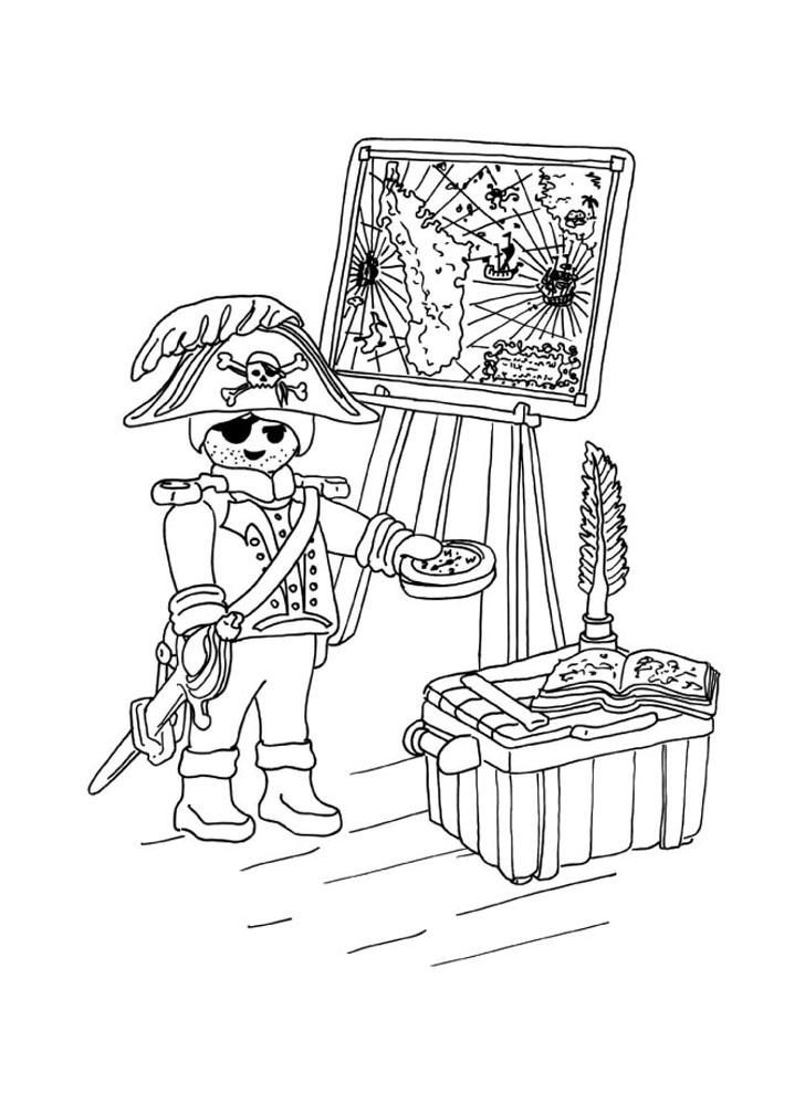 pour imprimer ce coloriage gratuit  coloriage playmobil pirate tresor