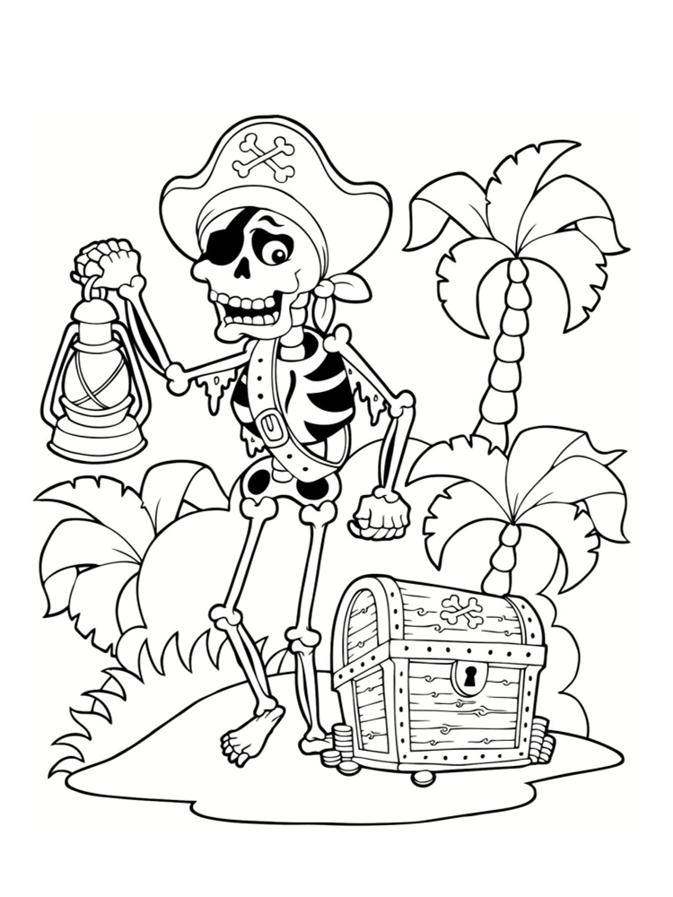 coloriage pirate playmobil