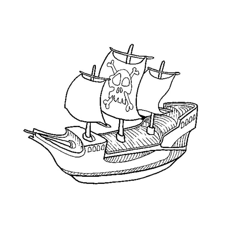 imprimer le coloriage pirate bateau pour imprimer le coloriage pirate
