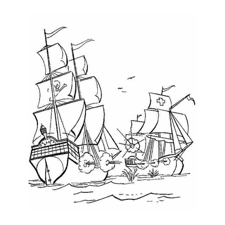 imprimer le coloriage bateau guerre pour imprimer le coloriage bateau