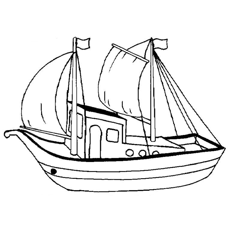 imprimer le coloriage bateau pêche pour imprimer le coloriage bateau