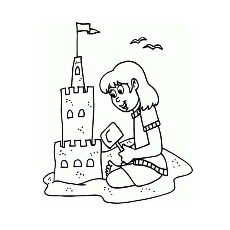 56 dessins de coloriage plage imprimer sur page 5 - Coloriage plage ...