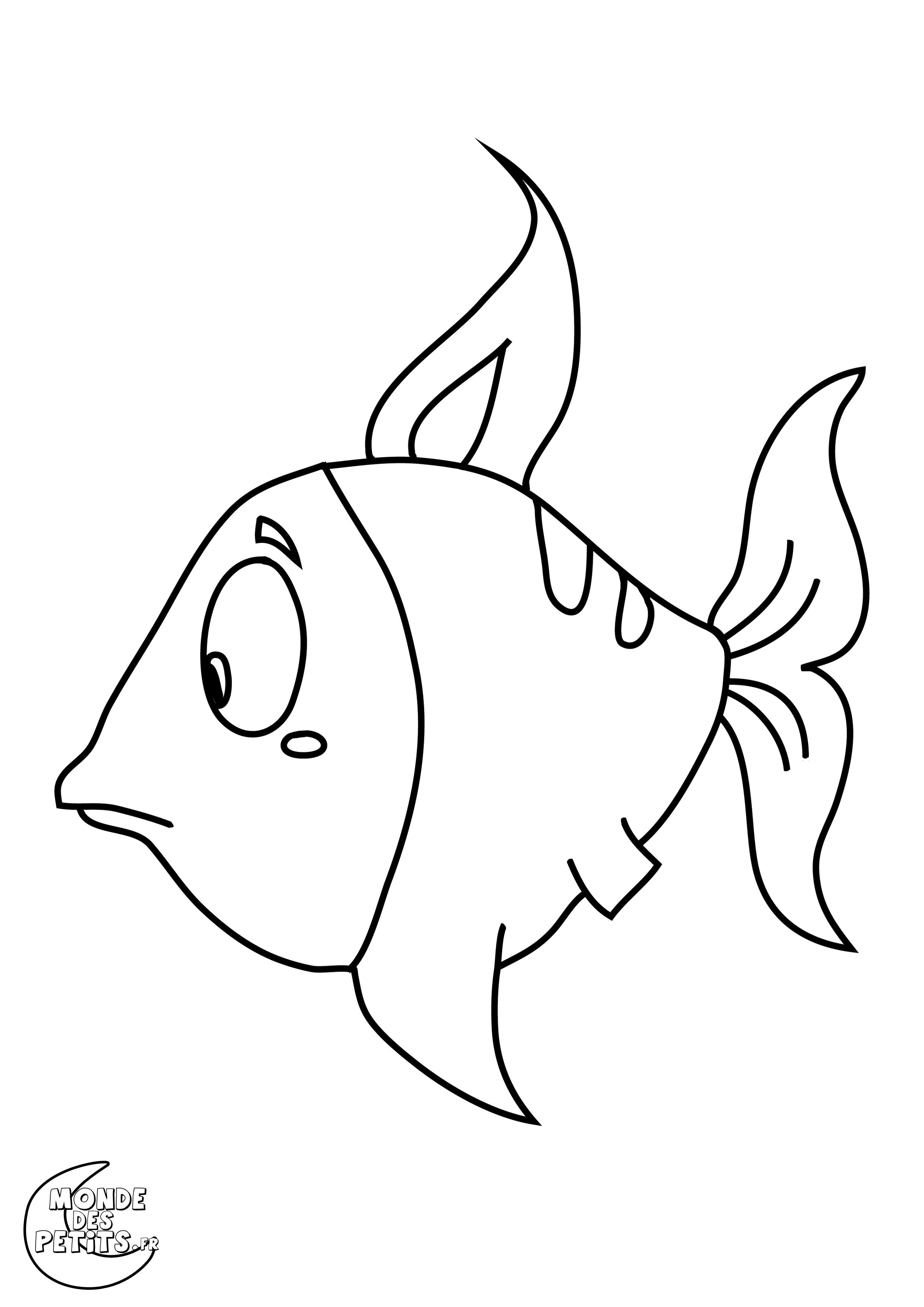 106 dessins de coloriage poisson imprimer sur laguerche - Image de poisson a imprimer ...