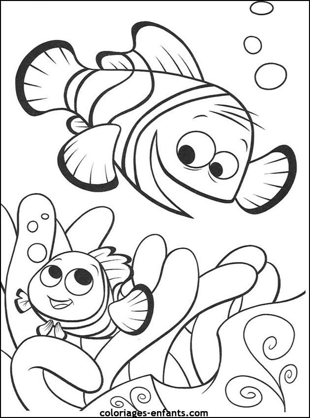 jeux de coloriage poisson imprimer